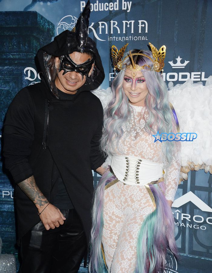 NO JUST JARED USAGE Maxim Halloween Party in Los Angeles. Pictured: Aubrey O'Day Ref: SPL1379531 231016 Picture by: Splash News Splash News and Pictures Los Angeles:310-821-2666 New York:212-619-2666 London:870-934-2666 photodesk@splashnews.com