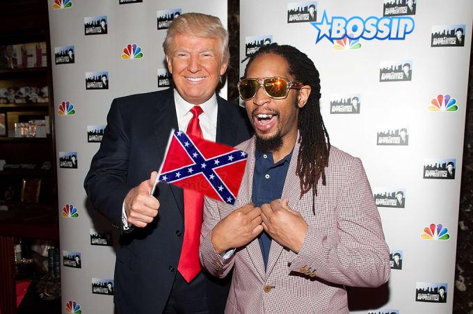 Trump and Lil' Jon