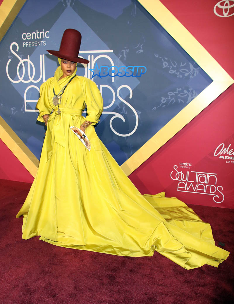 Erykah Badu WENN 2016 Soul Train Awards held at the Orleans Arena at Orleans Hotel & Casino in Las Vegas