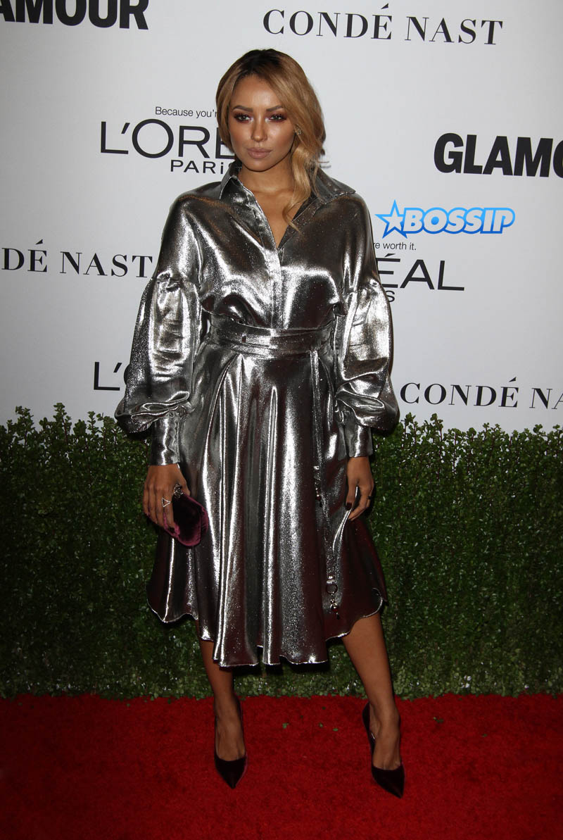 Kat Graham Glamour Celebrates 2016 Women of the Year Awards held at NeueHouse Hollywood WENN