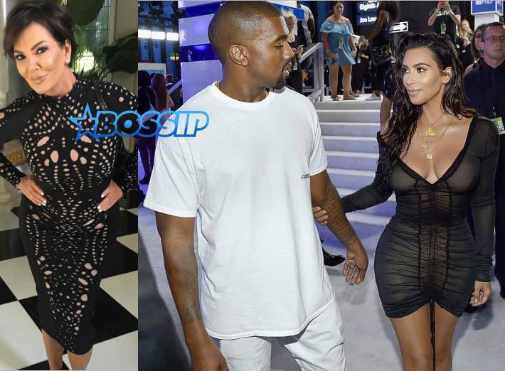 Kris Jenner Kim Kardashian Kanye West Instagram