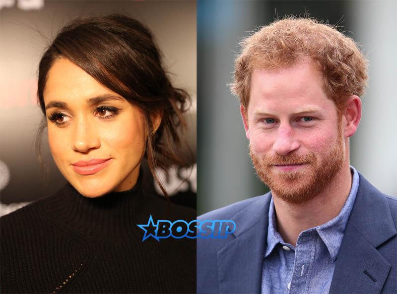 Meghan Markle Prince Harry dating WENN
