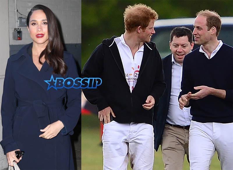 Meghan Markle Prince Harry Prince Williams SplashNews