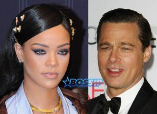 Rihanna Brad Pitt