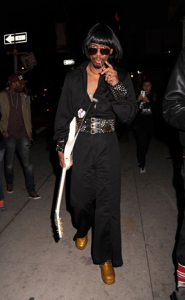 Celebrities attend Heidi Klum's 17th Annual Halloween Party held at Vandal in New York City, NY, USA. Pictured: Nick Cannon Ref: SPL1383888 311016 Picture by: C Valde/Photo Image Press/Splash Splash News and Pictures Los Angeles: 310-821-2666 New York: 212-619-2666 London: 870-934-2666 photodesk@splashnews.com