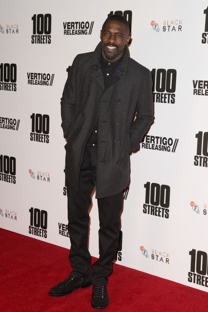The UK Premiere of '100 Streets' held at the BFI Southbank - Arrivals Featuring: Idris Elba Where: London, United Kingdom When: 08 Nov 2016 Credit: Mario Mitsis/WENN.com