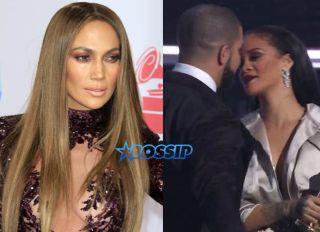 WENN Jennifer Lopez Rihanna Drake