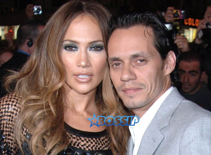 Archive photos of Jennifer Lopez and Marc Anthony at several events in NYC and California. SplashNews