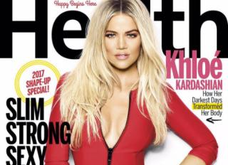 khloe Kardashian Health Magazine cover