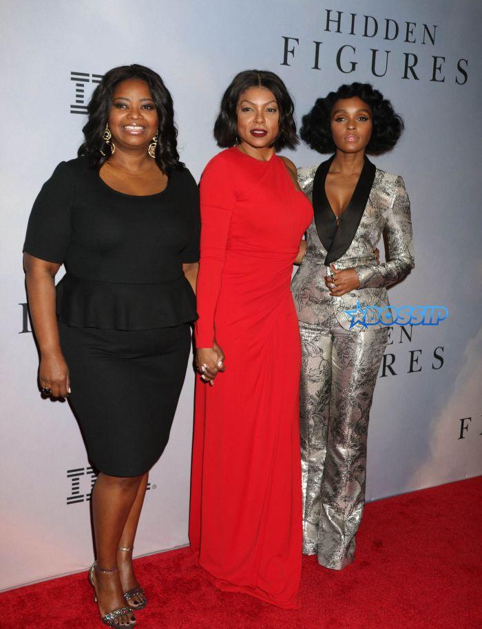 Celebrities attend the 'Hidden Figures' special screening in New York City