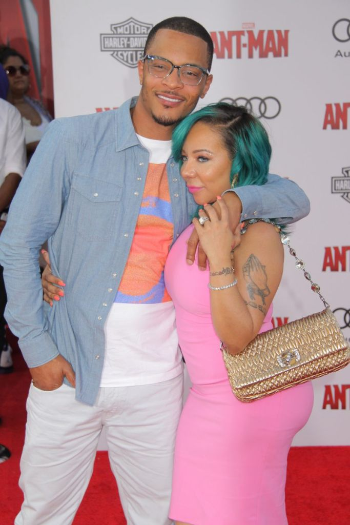 Premiere of Marvel's 'Ant-Man' held at The Dolby Theatre - Arrivals Featuring: Clifford Joseph Harris, Jr., Tameka Cottle, Tiny Where: Los Angeles, California, United States When: 29 Jun 2015 Credit: Ai-Wire/WENN.com