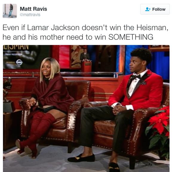 Lamar Jackson S Baelicious Mama Stole His Heisman Shine Bossip