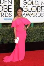 Angela Bassett 74th Golden Globe Awards Red Carpet Beverly Hilton Hotel SplashNews