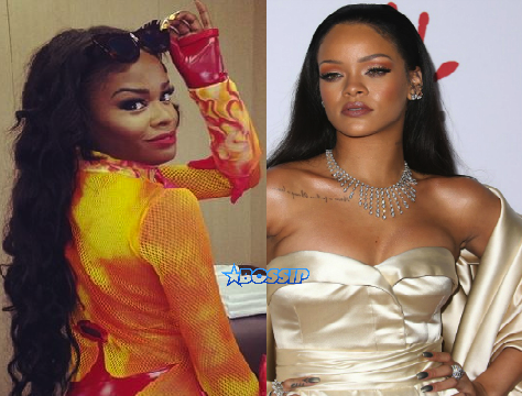 Azealia Banks Rihanna