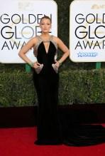 Blake Lively 74th Golden Globe Awards Red Carpet Beverly Hilton Hotel SplashNews
