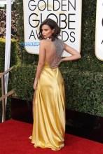 Emily Rajatkowski 74th Golden Globe Awards Red Carpet Beverly Hilton Hotel SplashNews