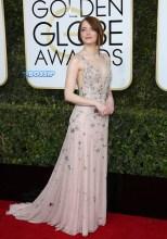 Emma Stone 74th Golden Globe Awards Red Carpet Beverly Hilton Hotel SplashNews