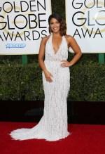Gina Rodriguez 74th Golden Globe Awards Red Carpet Beverly Hilton Hotel SplashNews