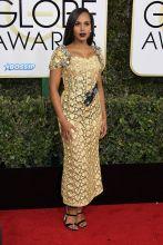 Kerry Washington 74th Golden Globe Awards Red Carpet Beverly Hilton Hotel SplashNews