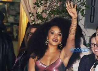 Kiersey Clemons Harper's BAZAAR 150 Most Fashionable Women Party Kiersey Clemons SplashNews