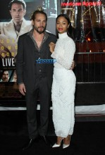 Marco Perego Zoe Saldana 'Live By Night' World Premiere held at the TCL Chinese Theatre WENN