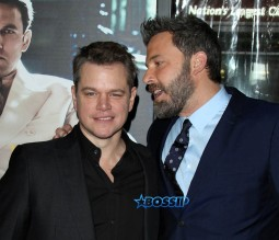 Matt Damon Ben Affleck 'Live By Night' World Premiere held at the TCL Chinese Theatre WENN
