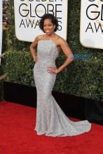 Regina King 74th Golden Globe Awards Red Carpet Beverly Hilton Hotel SplashNews