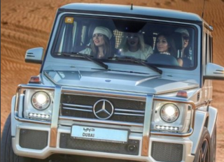 Kim Kardashian Dubai Instagram