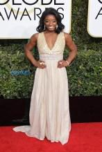 Simone Biles 74th Golden Globe Awards Red Carpet Beverly Hilton Hotel SplashNews