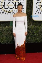 Thandie Newton 74th Golden Globe Awards Red Carpet Beverly Hilton Hotel SplashNews