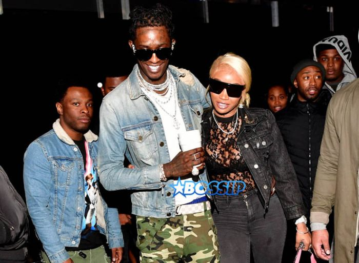 Young Thug Jerrika Compound Migos Afterparty Prince Williams ATLPics.net
