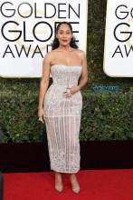 Tracee Ellis Ross 74th Golden Globe Awards Red Carpet Beverly Hilton Hotel SplashNews