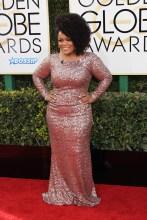 Yvette Nicole Brown 74th Golden Globe Awards Red Carpet Beverly Hilton Hotel SplashNews