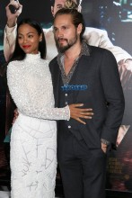 Zoe Saldana Marco Perego 'Live By Night' World Premiere held at the TCL Chinese Theatre WENN