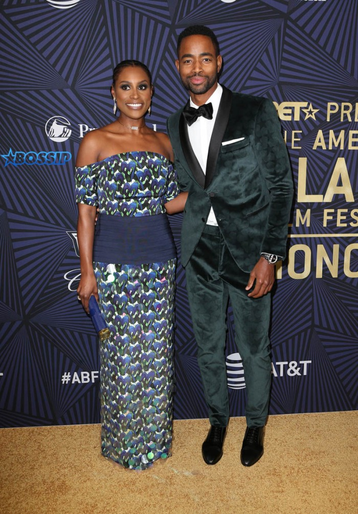 Issa Rae Jay Ellis BET's 2017 American Black Film Festival Honors Awards WENN