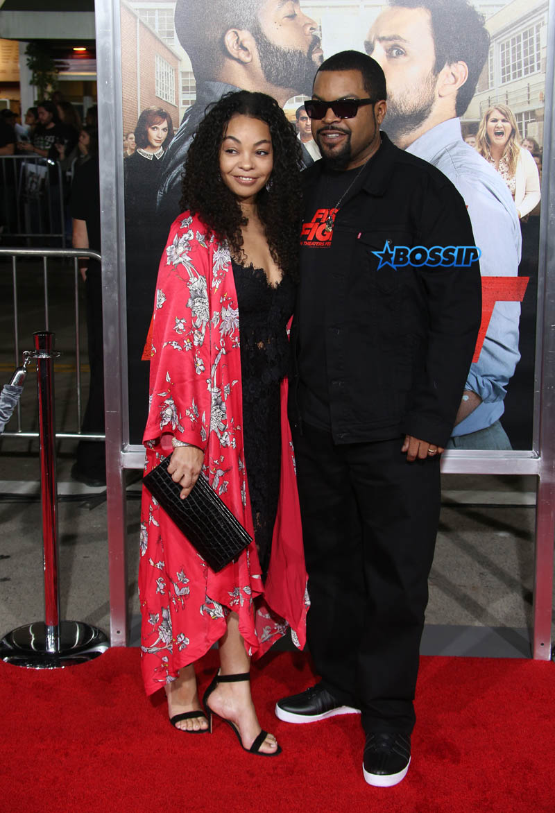 "Ice Cube O'Shea Jackson Kim Jackson Premiere Of Warner Bros. Pictures' ""Fist Fight"" Westwood, California, 14 Feb 2017 WENN"