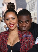 "Tracy Morgan and wife Megan Wollover Premiere Of Warner Bros. Pictures' ""Fist Fight"" Westwood, California, 14 Feb 2017 WENN"