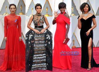 Ruth Negga Janelle Monae Viola Davis Taraji P Henson Oscars 89th Annual Academy Awards held at the Dolby Theatre at the Hollywood & Highland Center WENN SplashNews