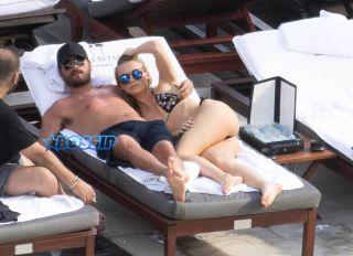 Scott Disick Miami Blonde SplashNews