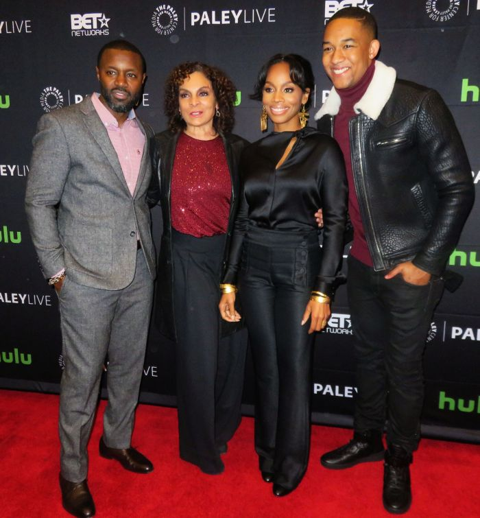 BET'S The Quad red carpet arrivals at The Paley Center for Media in New York City