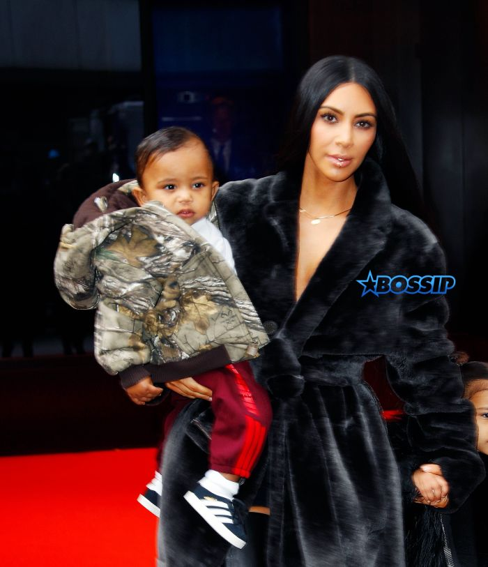 Kim Kardashian, North West, Saint West head out of their hotel in New York City Pictured: Kim Kardashian, North West, Saint West Ref: SPL1432821 010217 Picture by: Jackson Lee / Splash News Splash News and Pictures Los Angeles:310-821-2666 New York:212-619-2666 London:870-934-2666 photodesk@splashnews.com