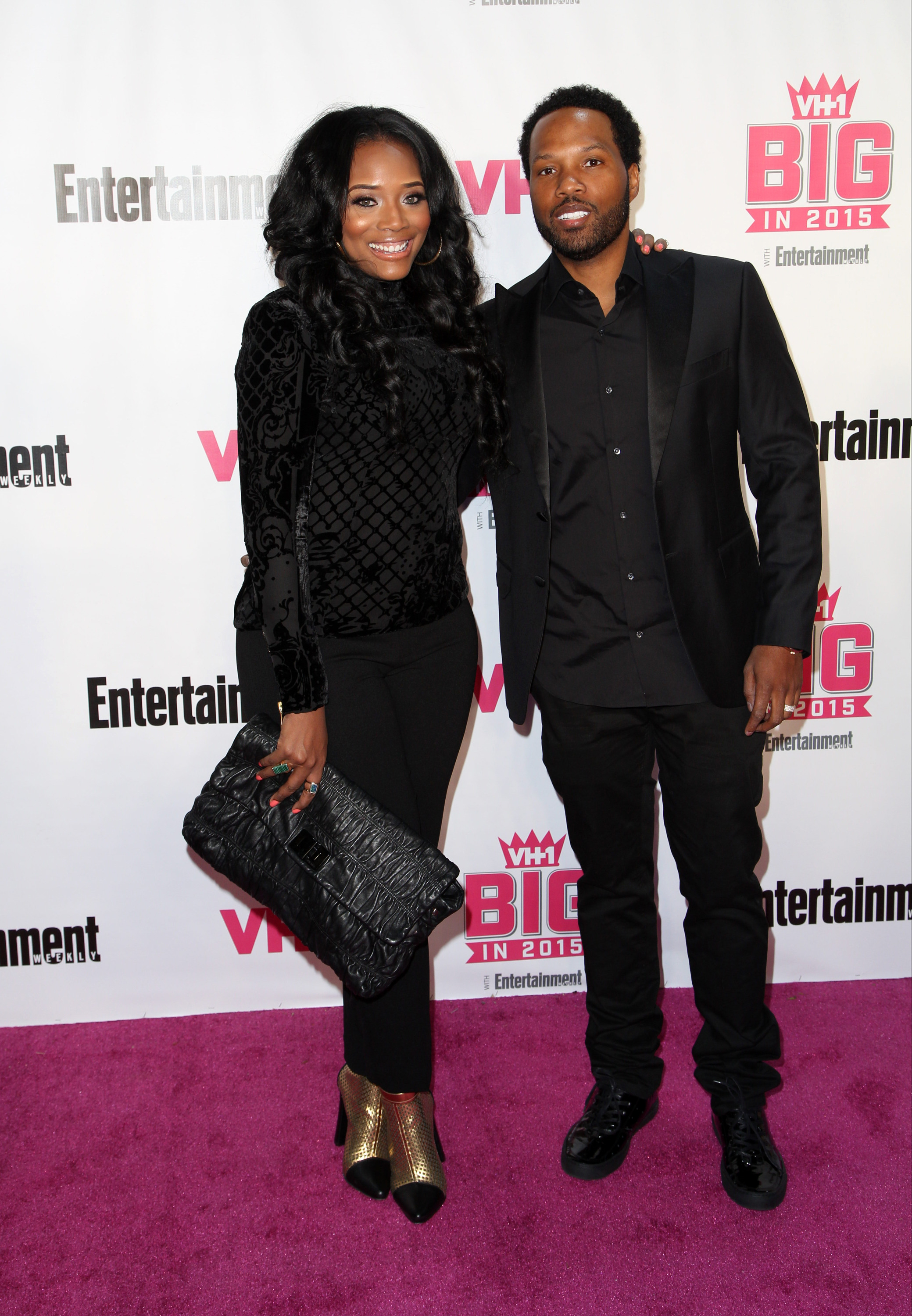 Celebrities attend VH1 Big In 2015 With Entertainment Weekly Awards at Pacific Design Center. Featuring: Yandy Smith Harris, Mendeecees Harris Where: Los Angeles, California, United States When: 15 Nov 2015 Credit: Brian To/WENN.com