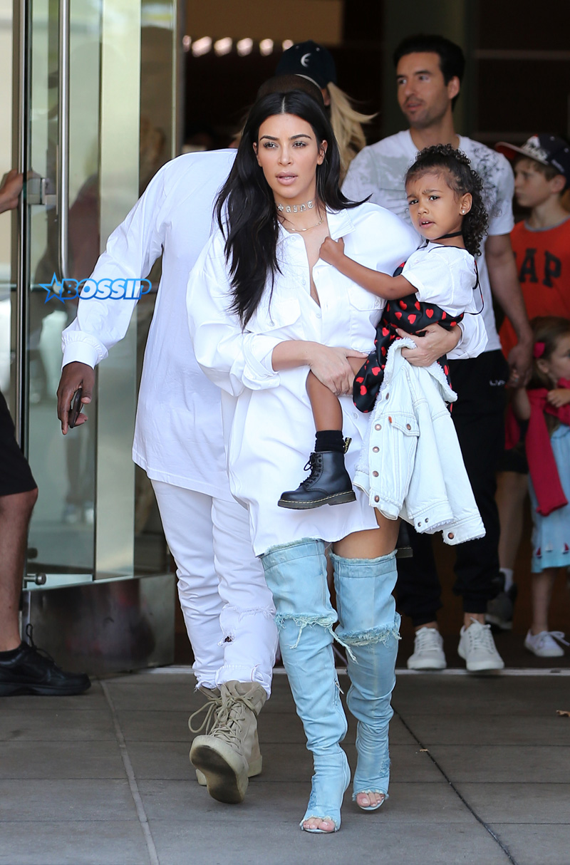 Kim Kardashian lunch Cuvee restaurant in Beverly Hills, Ca  with sister Kendall as they film Keeping Up With The Kardashians SplashNews