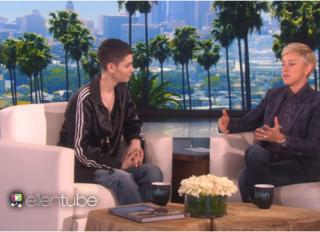 Ellen DeGeneres Asia Kate Dillon