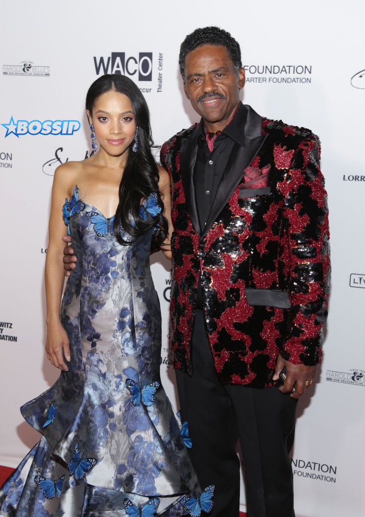 Bianca Lawson and Richard Lawson attend the Wearable Art Gala - Arrivals at California African American Museum on April 29, 2017 in Los Angeles, California. (Photo by Jerritt Clark/WireImage)