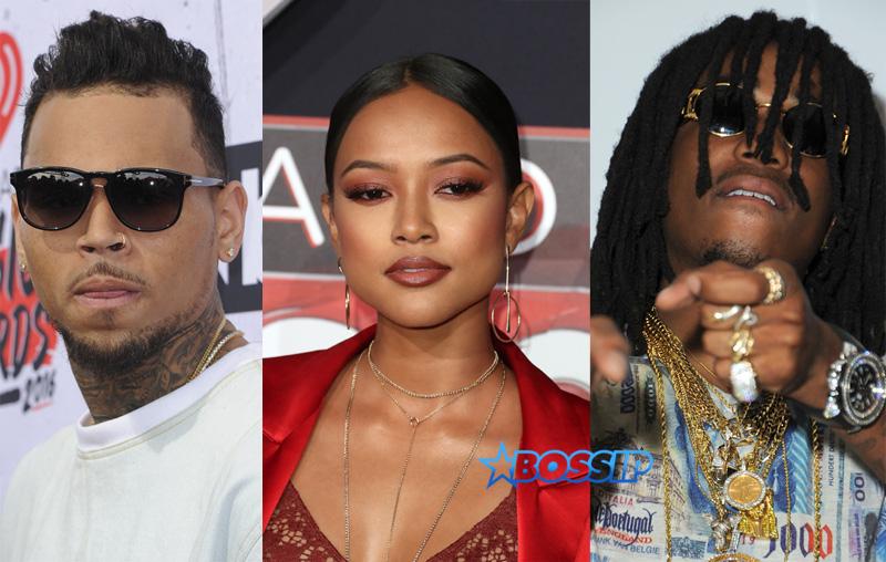 Chris Brown Karrueche Tran Quavo WENN SplashNews