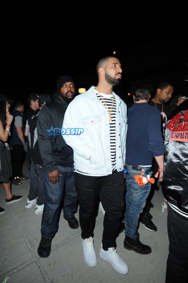 Drake Neon Carnival Coachella SplashNews