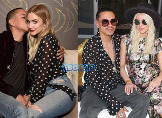 Evan Ross and Ashlee Simpson Ross share a $690 Saint Laurent Blouse Getty Images