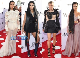 Kim Kardashian Fergie Nicki Minaj Jhene Aiko Daily Front Row's 3rd Annual Fashion Los Angeles Awards held at the Sunset Tower Hotel on April 2, 2017 in West Hollywood, Los Angeles, California, United States. Splash News