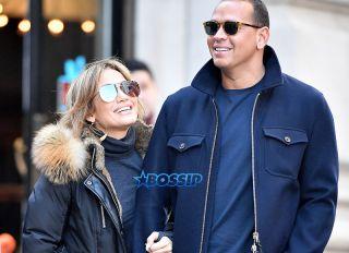 Jennifer Lopez and Alex Rodriguez shop Balmain Soho mom Guadalupe New York City, NY. SplashNews
